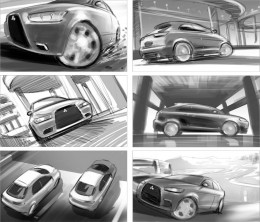 lucas-steeman-mitsubishi-rough-storyboard