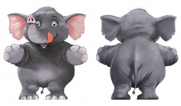 OLIFANT_raamsticker_character