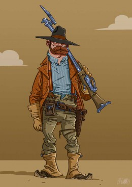 menno-wittebrood-illustratie-character-red-cowboy