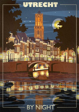 jan-de-jonge-illustratie-utrecht-by-night