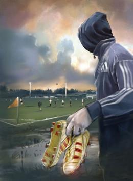 Richard Raaphorst @ Roughmen visual Adidas Predator scout