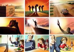 Ruben Ooms HEINZ storyboard
