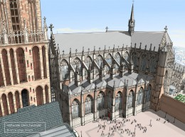 Herbouw Domkerk Utrecht door Jan de Jonge