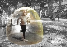 jan-blom-asics-man-regen-bubbel