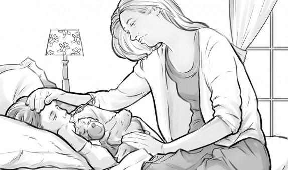 jan-de-jonge-moeder-met-ziek-kind