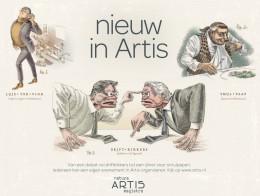 Frenk Meeuwsen illustratie Nieuw in Artis