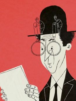 emanuel-wiemans-illustratie-vergrootglas-mannetjes-op-hoed