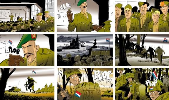 Hans Jonkers storyboard Grolsch