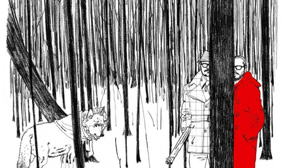 Menno Wittebrood @ Roughmen illustratie Victor & Rolf