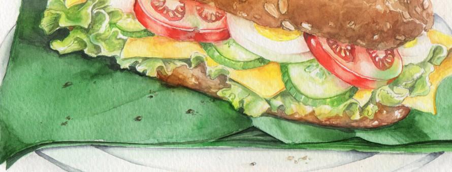 aquarel broodje gezond sarina reilingh header