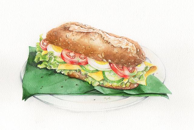 sarina-aquarel-broodje-gezond